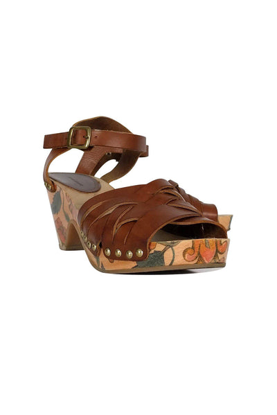 Current Boutique-Isabel Marant - Brown Leather Sandals Sz 9