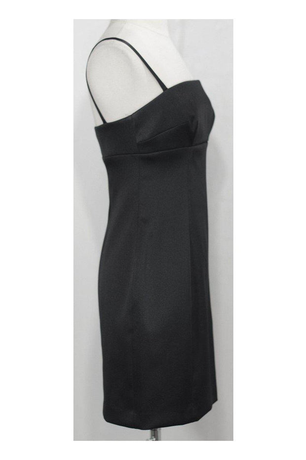 Current Boutique-Laundry by Shelli Segal - Black Spaghetti Strap Dress Sz 4