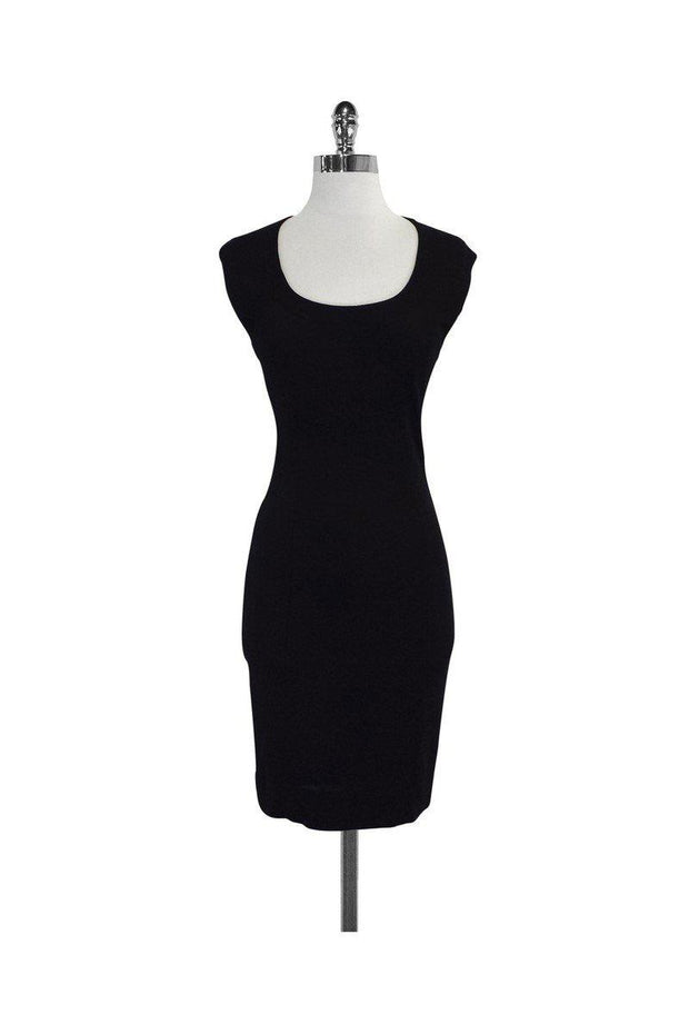 Current Boutique-Moschino Cheap & Chic - Black Bodycon Dress Sz 6