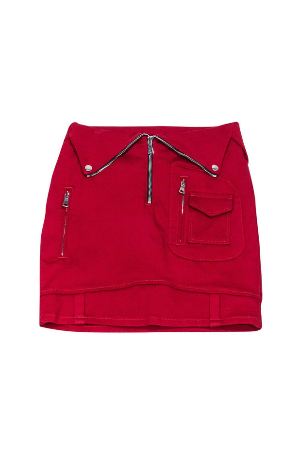 Current Boutique-RtA - Red Mini Skirt Sz 2