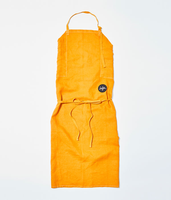 ANYBODY'S APRON Ginger Orange