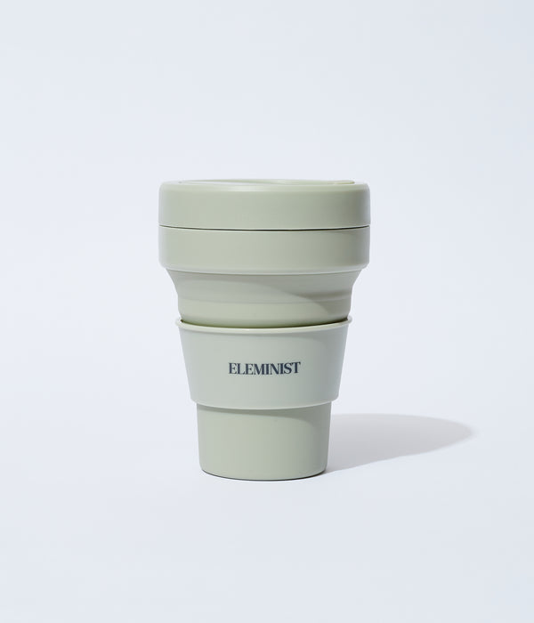 ELEMINIST×stojo Pocket Cup 355ml single
