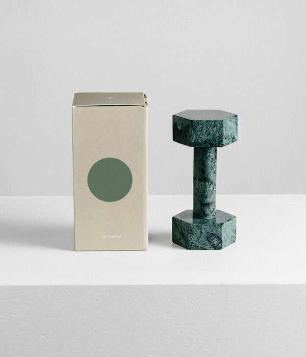 Marble Dumbbell – Green