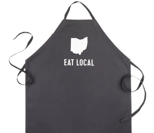 Eat Local Ohio Apron