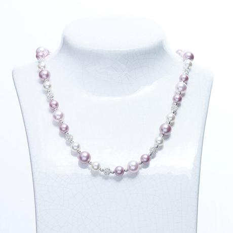 Alison pink mix necklace