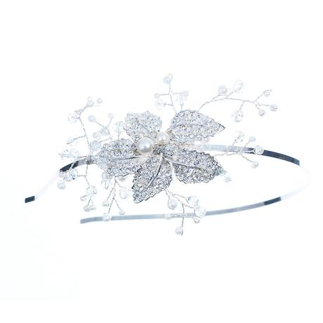 Crystal star flower hairband