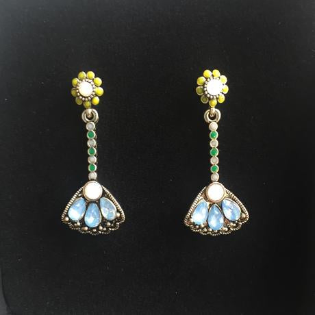 Opal-Blue Earrings