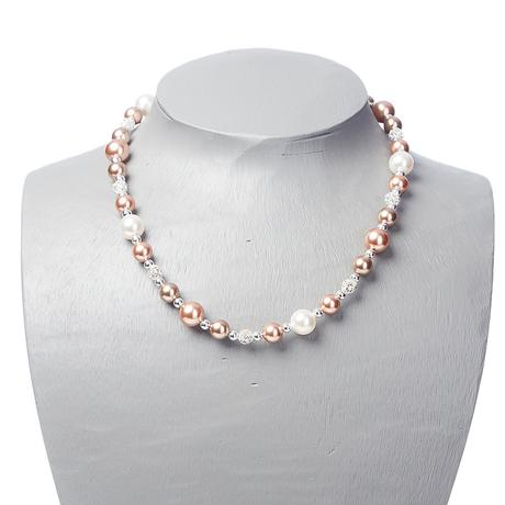 Alison Necklace Rose Gold Mix
