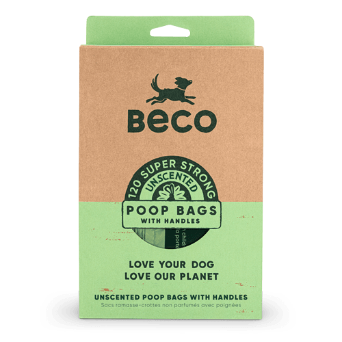 Large Poop Bags | with Handles | 120
