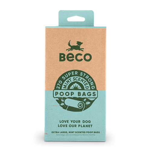 Large Poop Bags | Mint Scented | 270