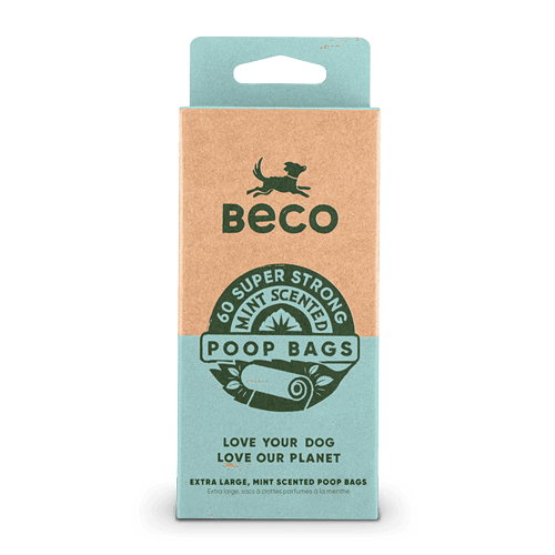 Large Poop Bags | Mint Scented | 60