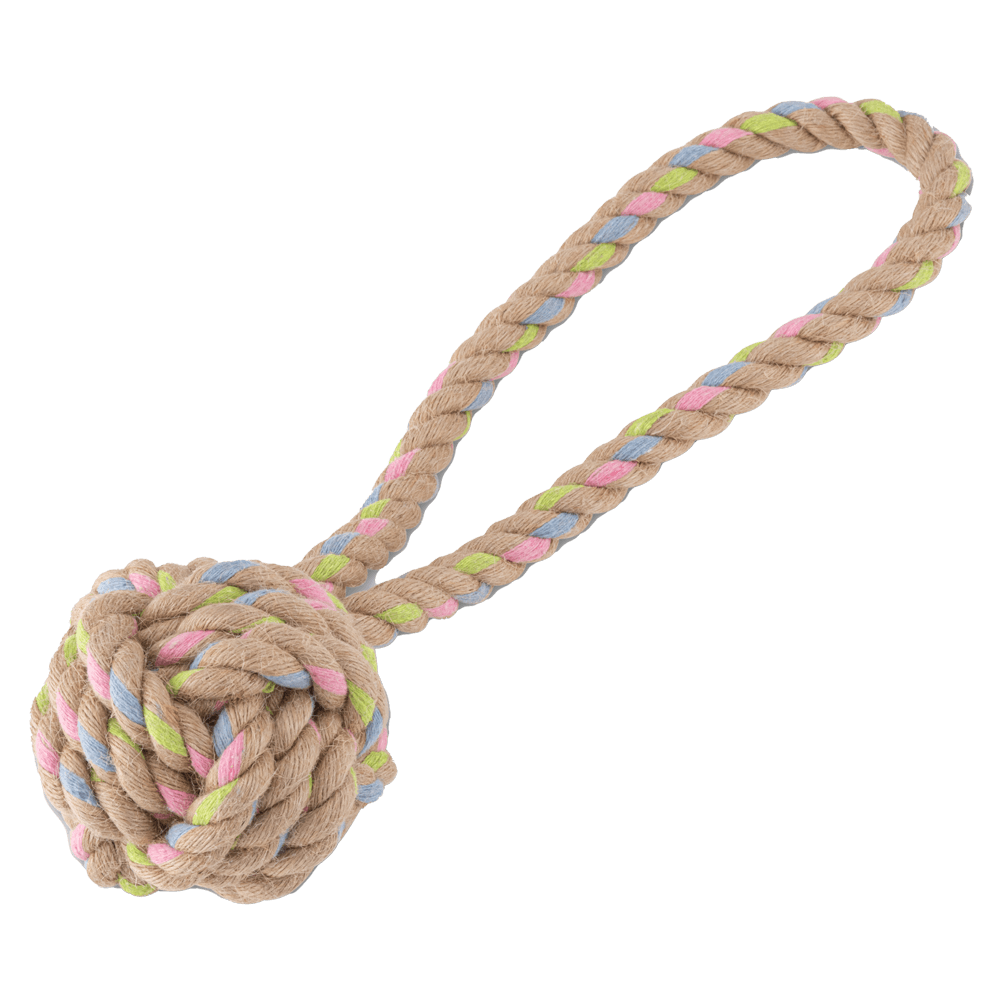 Hemp Rope | Ball on Loop