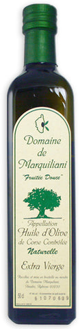 "Domaine de Marquiliani Extra Virgin Olive Oil ""Fruitée Sauvage"" (Corsica) 2018 500ml"