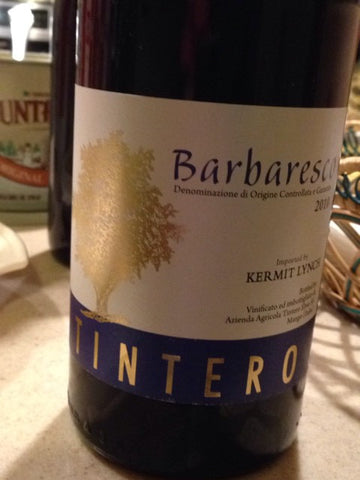 Elvio Tintero Barbaresco 2015
