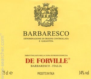 De Forville Barbaresco 2016