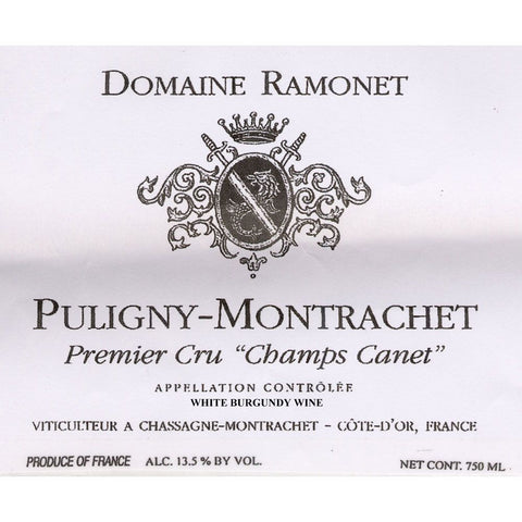 Ramonet Puligny-Montrachet Champs Canet 2008