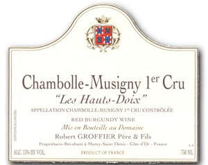 Groffier Chambolle-Musigny Les Hauts Doix 2005