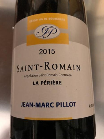 Jean-Marc Pillot Saint-Romain Les Perrieres 2015
