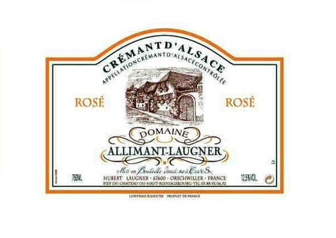 Allimant-Laugner Cremant d'Alsace Rose NV MAGNUM