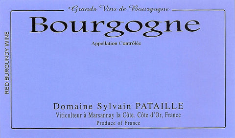 Sylvain Pataille Bourgogne Rouge 2016