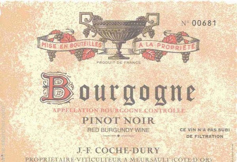 Coche-Dury Bourgogne Rouge 2016