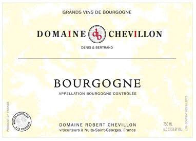 Chevillon Bourgogne Rouge 2016