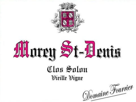 Fourrier Morey Saint-Denis Clos Solon VV 2018