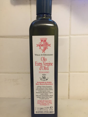 Villa di Geggiano Extra Virgin Olive Oil Tuscany 2017 500ml