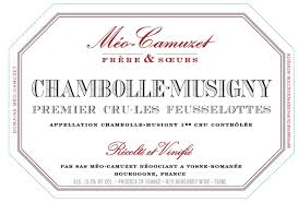Meo-Camuzet Chambolle-Musigny Les Feusselottes 2017