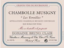Domaine Bruno Clair Chambolle-Musigny Les Véroilles 2005