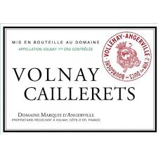Marquis d'Angerville Volnay Caillerets 2010