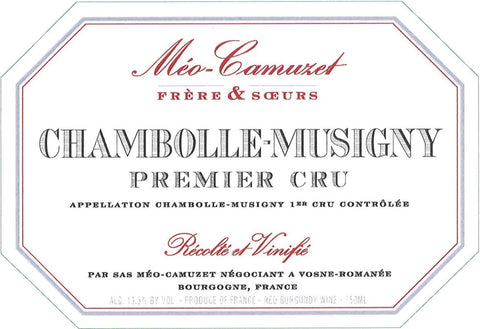 Meo-Camuzet Chambolle-Musigny 1er Cru 2016
