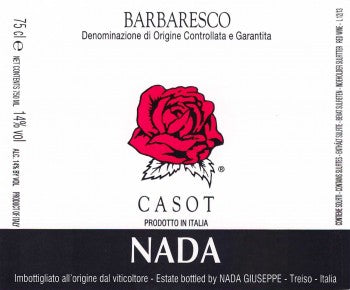 "Nada Barbaresco ""Casot"" 2013"