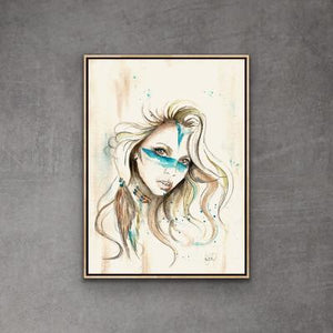 Print Watercolor Soul Warrior