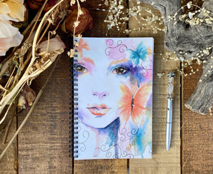 Journal notepad Butterflies