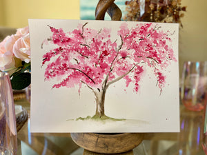Watercolor Originals Cherry Tree Collection