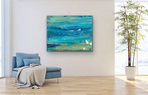 Canvas Print Abstract Wave