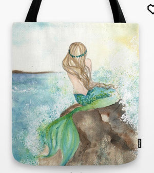 Tote Bag Summer Mermaid
