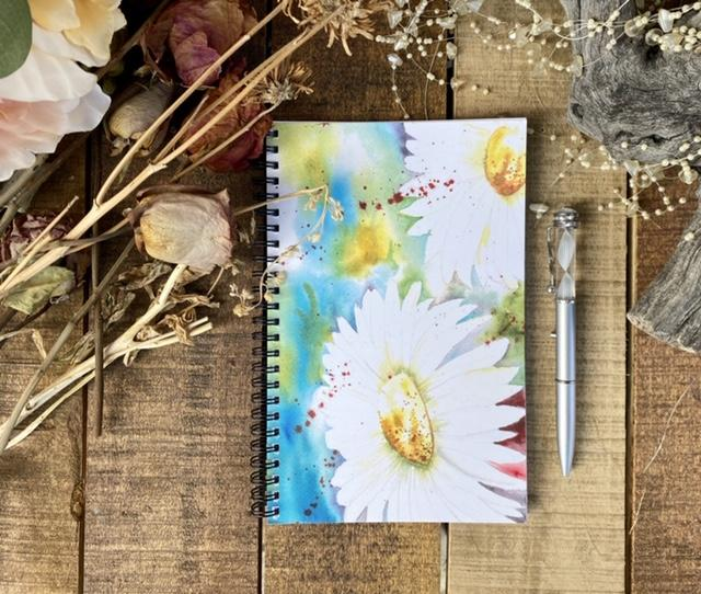Journal Vibrant Daisies
