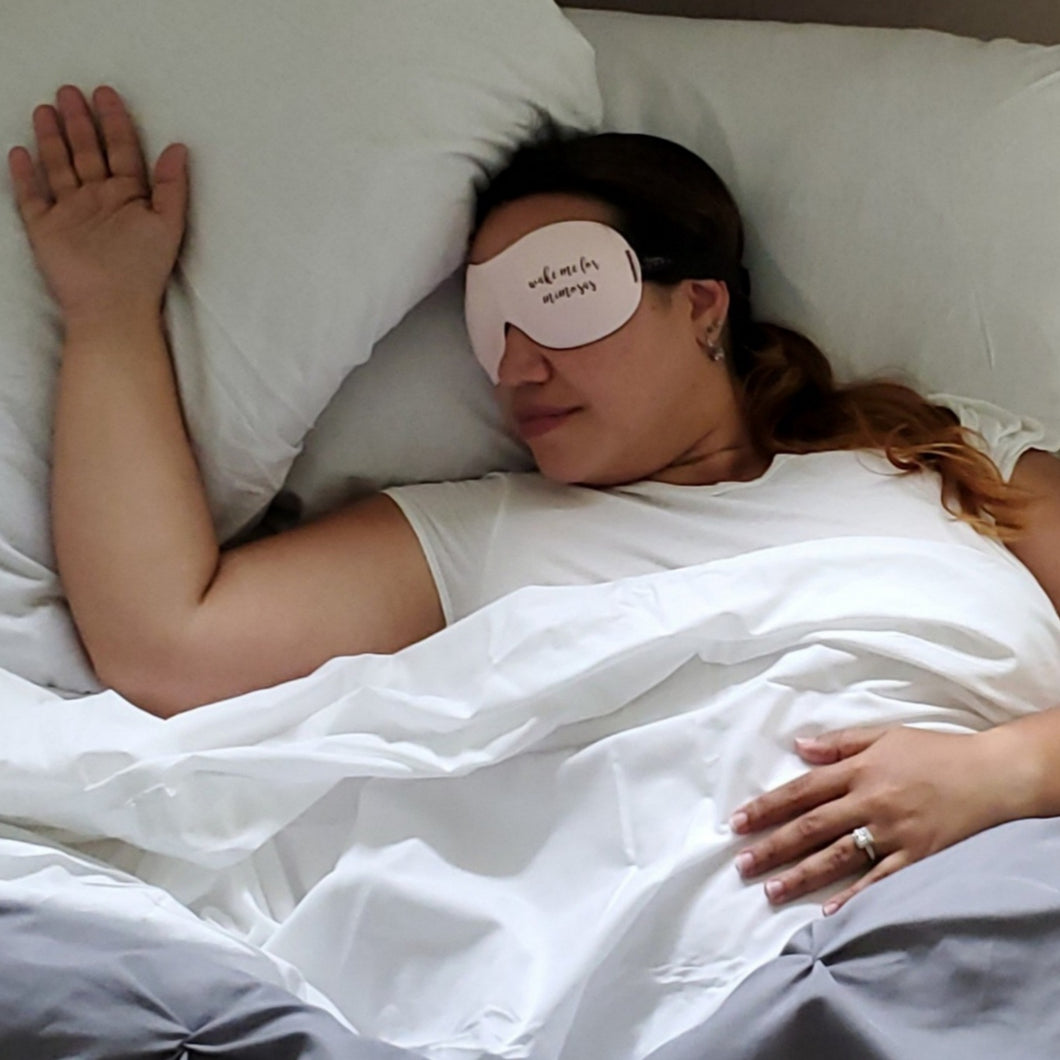 Wake Me For Mimosas Eye Mask