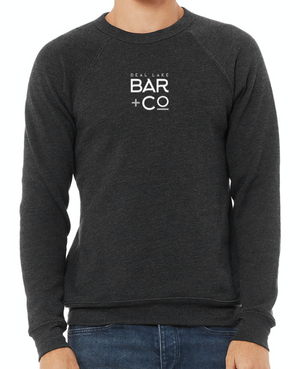 Deal Lake Bar + Co. Heather Dark Grey Sweatshirt
