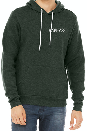 Deal Lake Bar + Co. Heather Forest Hoodie