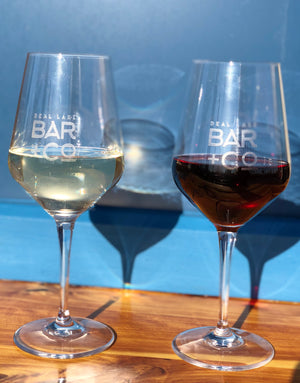Deal Lake Bar + Co. Custom Wine Glasses