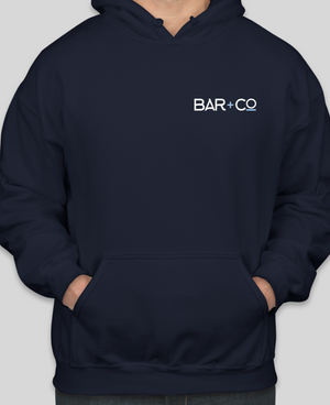 Deal Lake Bar + Co. Navy Pullover Hoodie