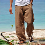 Load image into Gallery viewer, Eco-friendly Linen Casual Pants