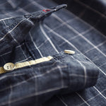 Load image into Gallery viewer, Lapel Collar Button Down Men Plaid Shirts