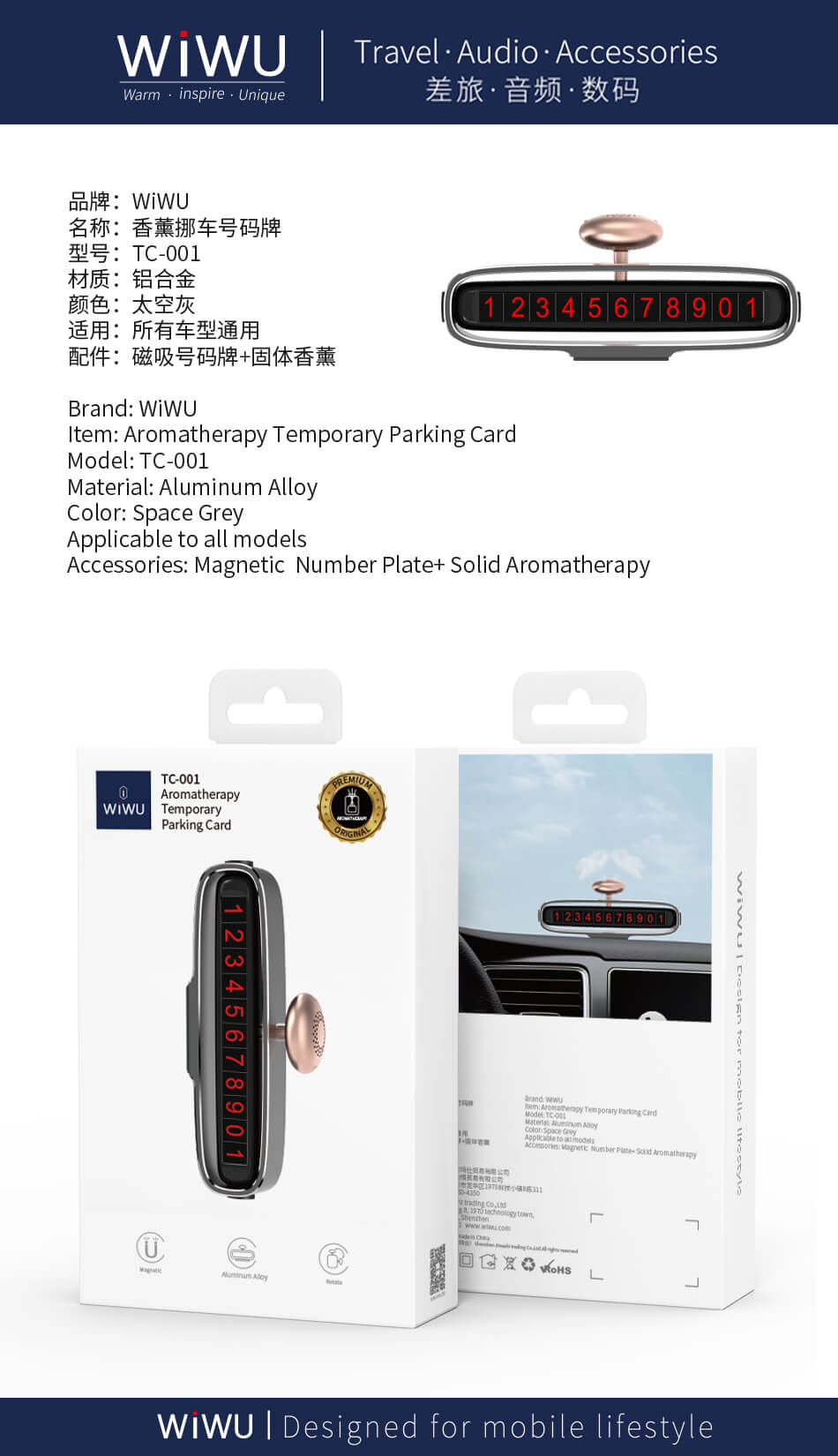 TC-006, Temporary parking card, TIK Tok Hot Phone Number Plate, Parking Card