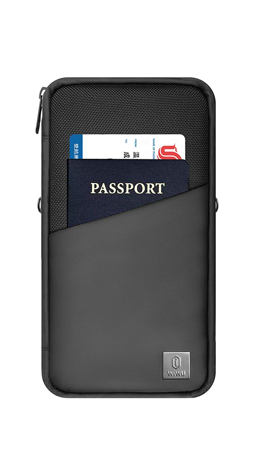WiWU Travel mate, Passport Holder, Passport Holder Travel Document Organizer