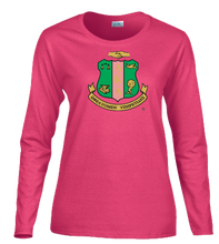 Load image into Gallery viewer, PrettyGirl Shield Longsleeve Tee