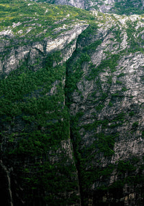The seperated cliff